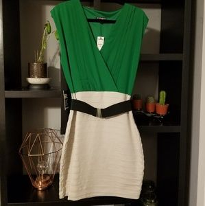 Express NWT size medium bodycon dress